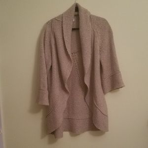 Ann Taylor Loft long sweater cardigan